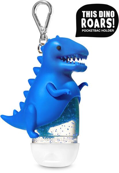 Roaring Blue Dinosaur PocketBac Holder
