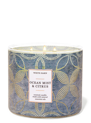 Ocean Mist & Citrus 3-Wick Candle
