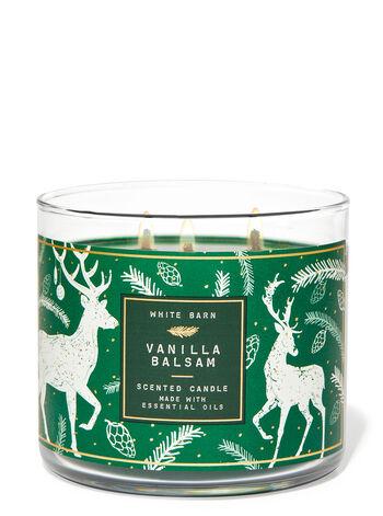Vanilla Balsam 3-Wick Candle