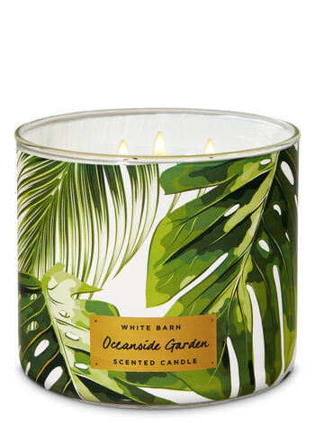 Oceanside Garden 3-Wick Candle - Bath And Body Works