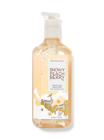 Snowy Peach Berry Gentle Gel Hand Soap
