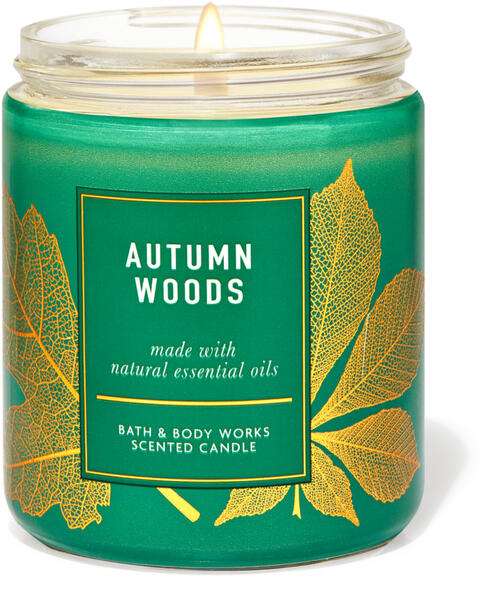 Autumn Woods Single Wick Candle