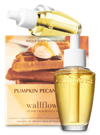 Pumpkin Pecan Waffles Wallflowers Refills, 2-Pack - Bath And Body Works