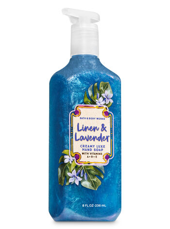 Linen & Lavender Creamy Luxe Hand Soap - Bath And Body Works