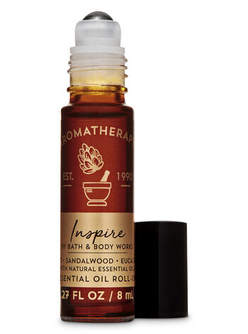 Aromatherapy Violet Sandalwood Eucalyptus Essential Oil Roll-On - Bath And Body Works