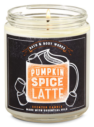Pumpkin Spice Latte Single Wick Candle