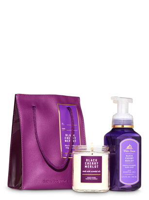 Black Cherry Merlot Gift Bag Set