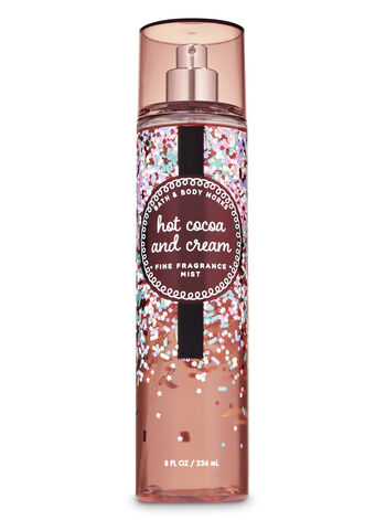 Hot Cocoa & Cream Fine Fragrance Mist - Bath And Body Works