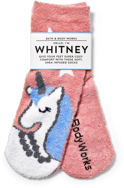Unicorn Shea-Infused Socks
