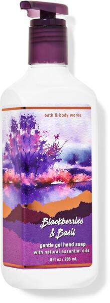 Blackberries & Basil Gentle Gel Hand Soap