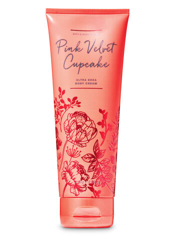 Pink Velvet Cupcake Ultra Shea Body Cream - Bath And Body Works