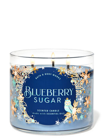 Blueberry Sugar 3-Wick Candle