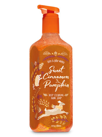 Sweet Cinnamon Pumpkin Deep Cleansing Hand Soap - Bath And Body Works