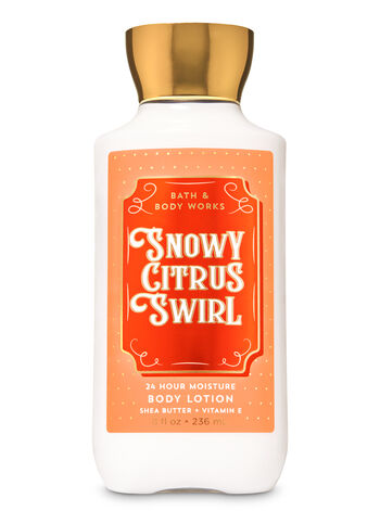 Snowy Citrus Swirl Super Smooth Body Lotion - Bath And Body Works