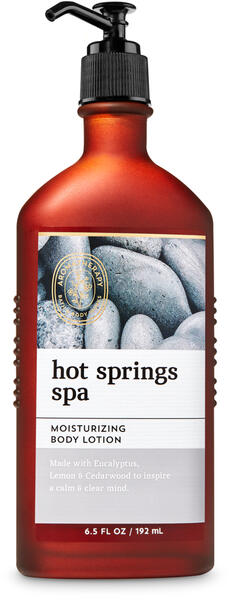 Hot Springs Spa Body Lotion