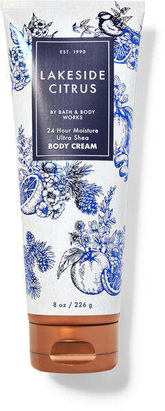 Lakeside Citrus Ultra Shea Body Cream