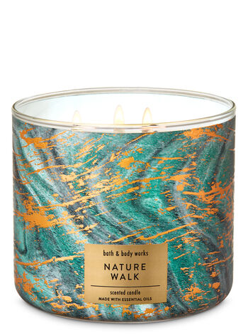 Nature Walk 3-Wick Candle - Bath And Body Works