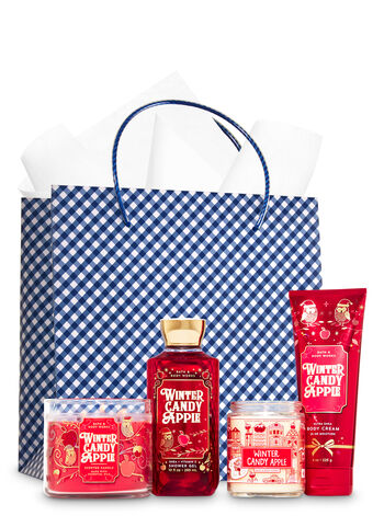 Winter Candy Apple Ultimate Fragrance Fan Gift Kit - Bath And Body Works