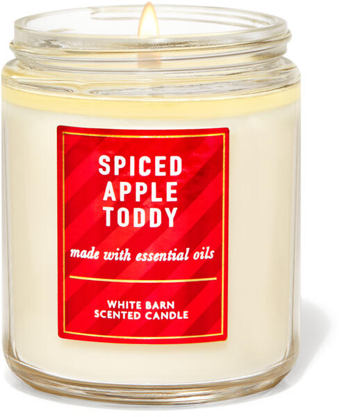Spiced Apple Toddy Single Wick Candle