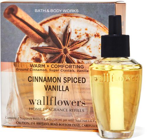 Cinnamon Spiced Vanilla Wallflowers Refills 2-Pack