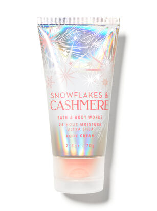 Snowflakes & Cashmere Travel Size Body Cream