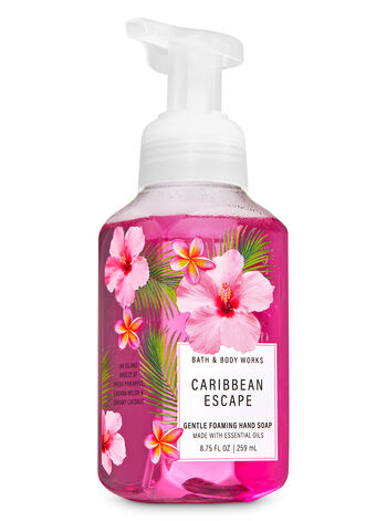 Caribbean Escape Gentle Foaming Hand Soap - Bath And Body Works