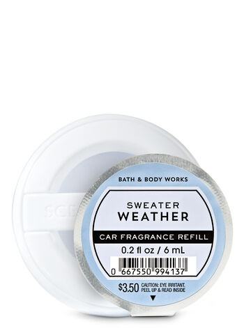 Sweater Weather Car Fragrance Refill - Bath And Body Works