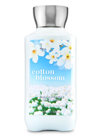 Signature Collection Cotton Blossom Body Lotion - Bath And Body Works