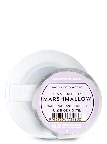 Lavender Marshmallow Car Fragrance Refill - Bath And Body Works