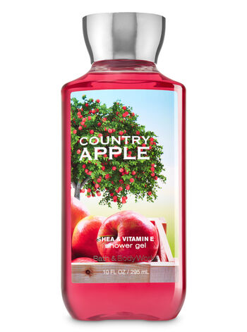Signature Collection Country Apple Shower Gel - Bath And Body Works