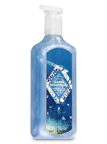 Capri Ocean Breeze Creamy Luxe Hand Soap - Bath And Body Works