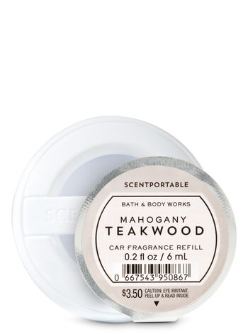 Mahogany Teakwood Scentportable Fragrance Refill - Bath And Body Works