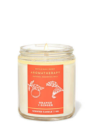Orange Ginger Single Wick Candle