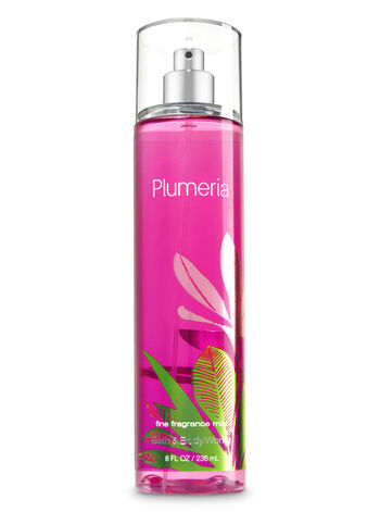 Signature Collection Plumeria Fine Fragrance Mist - Bath And Body Works