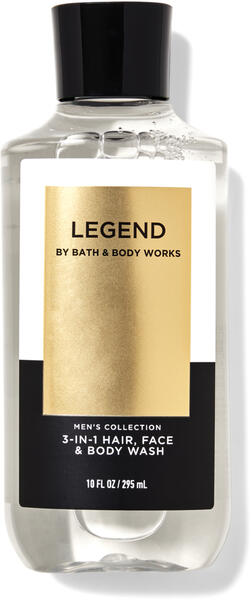 Legend 3-in-1 Hair, Face & Body Wash
