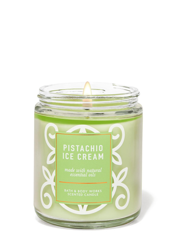Pistachio Ice Cream Single Wick Candle