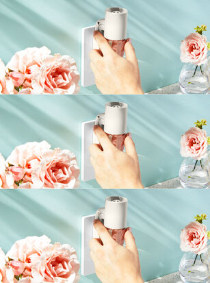 White Adjustable Wallflowers Scent Control™ Plug