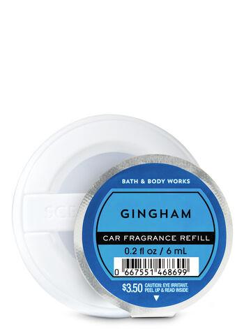Gingham Car Fragrance Refill - Bath And Body Works