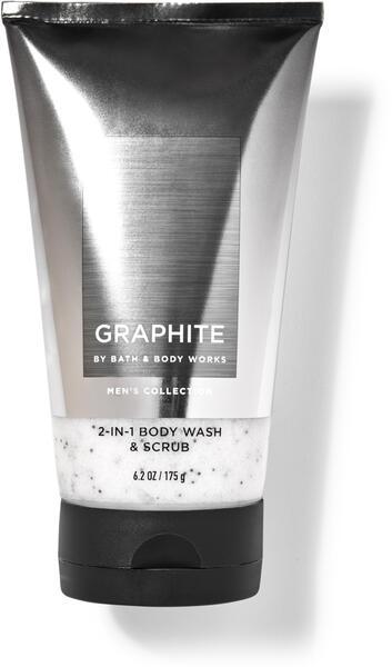 Graphite 2-in-1 Body Wash & Scrub