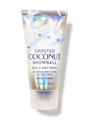 Frosted Coconut Snowball Travel Size Body Cream