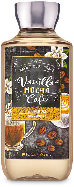 Vanilla Mocha Café Shower Gel