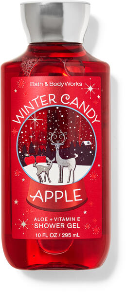 Winter Candy Apple Shower Gel