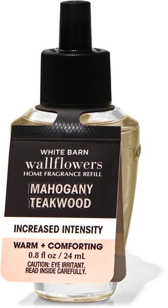 Mahogany Teakwood Increased Intensity Wallflowers Fragrance Refill
