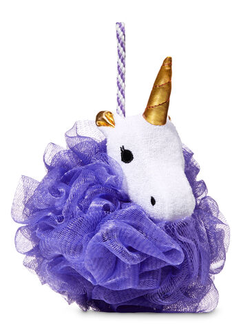 Unicorn Purple Mesh Shower Sponge - Bath And Body Works