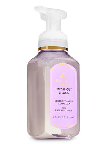 White Barn Fresh Cut Lilacs Gentle Foaming Hand Soap - Bath And Body Works