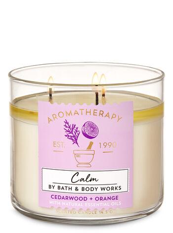 Aromatherapy Orange Cedarwood 3-Wick Candle - Bath And Body Works