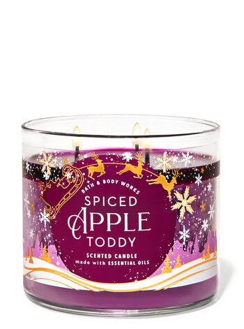 Spiced Apple Toddy 3-Wick Candle