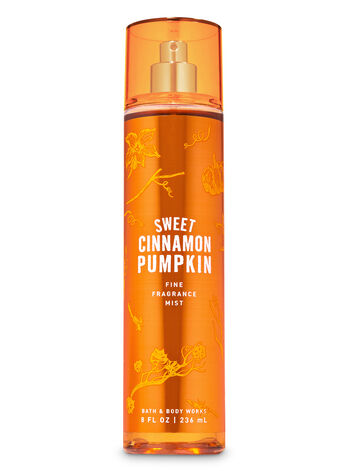 Sweet Cinnamon Pumpkin Fine Fragrance Mist - Bath And Body Works