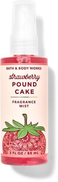 Strawberry Pound Cake Travel Size Fine Fragrance Mist