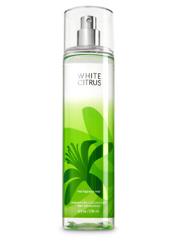 Signature Collection White Citrus Fine Fragrance Mist - Bath And Body Works